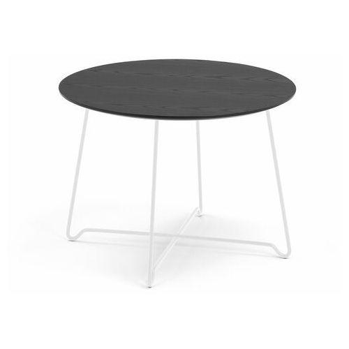 Aj produkty Stół kawowy iris, wys. 510 mm, biały, czarny