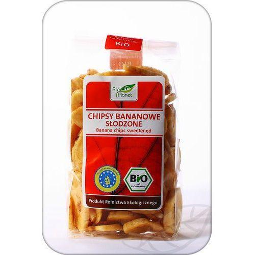 Bio Planet: chipsy bananowe słodzone BIO - 150 g, 892