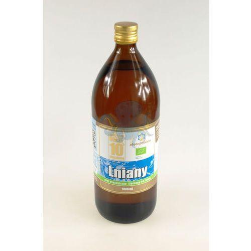 Olej lniany budwigowy BIO 1L 10-stopniowy - 1L, 5902020648659