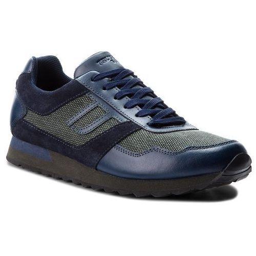 Sneakersy TRUSSARDI JEANS - 77A00101 U616, kolor zielony