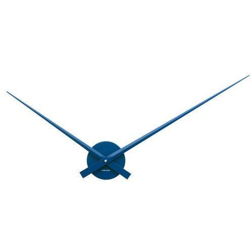:: zegar ścienny little big time granatowy - granatowy marki Karlsson