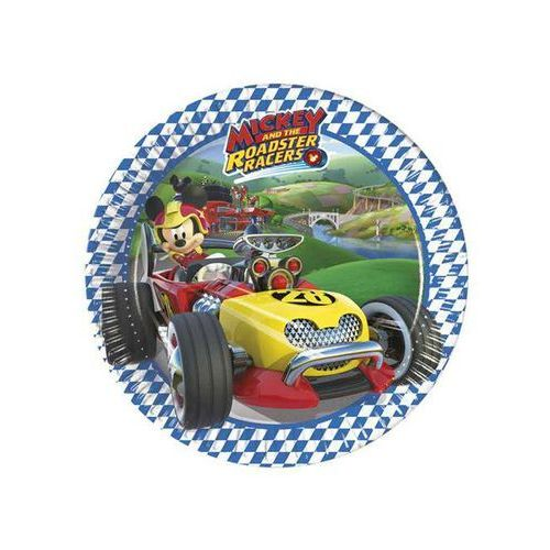 "Talerzyki papierowe ""mickey mouse roadster racers"" 19,5 cm (8 szt) marki Party world"