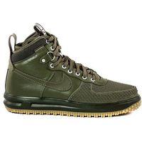 Buty Nike Lunar Force 1 Duckboot - 805899-201 - Oliwkowy, kolor zielony