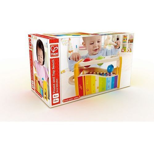 Cymbałki z przebijanką dla dzieci  marki Hape