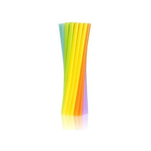 Słomki - rurki jumbo kolorowe proste - 24 cm - 250 szt. marki Go