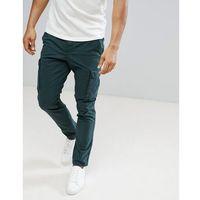 Tommy hilfiger denton cargo pants in deep green - grey