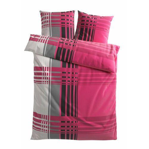 """Pościel """"Milano"""" bonprix jeżynowy, kolor fioletowy"""
