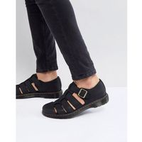 Dr Martens Revive Fenton Closed Sandals In Black - Black, kolor czarny