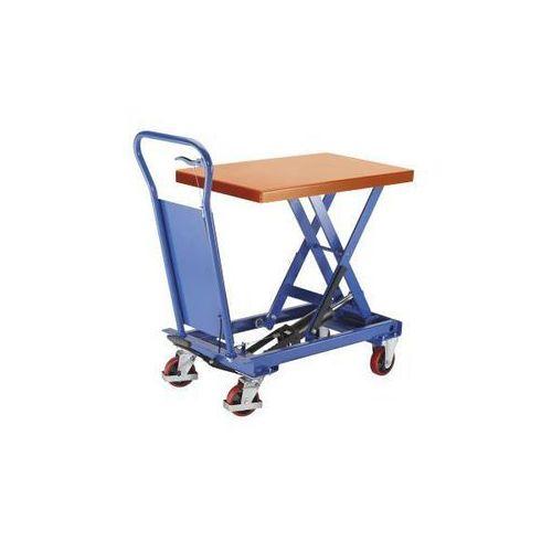 Platformowy wózek podnośnikowy Standard, nośność 250 kg, platforma lakierowana p
