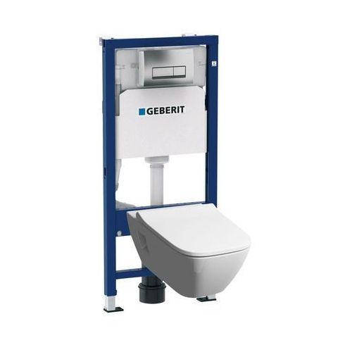 Zestaw podtynkowy WC Geberit Unifix Premium bezkołnierzowy z deską wolnoopadającą (4025416806769)
