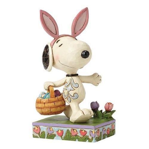 Wielkanocny Snoopy Happy Easter ( Snoopy) 4049398 Jim Shore figurka ozdoba świąteczna (0045544821025)