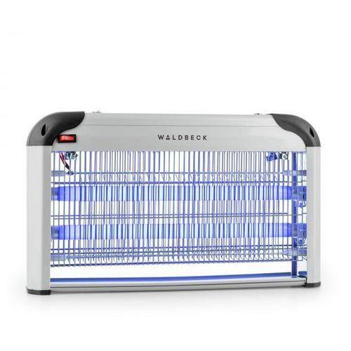 mosquito ex 5000 lampa owadobójcza 38 w światło uv 150 m² kolor srebrny marki Waldbeck