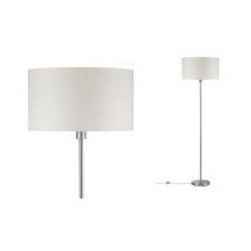Oprawa podłogowa Tessa kremowa / szczotkowana żelazo Bez lampy, max. 60 W E27, PAULMANN 70922