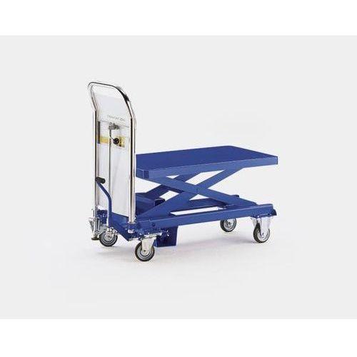 Platformowy wózek podnośnikowy, nośność 500 kg, zakres podnoszenia 300 - 930 mm. marki Seco