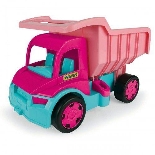 Wader Wywrotka dla dziewczynek gigant truck różowa