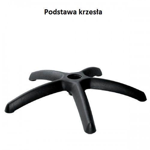 Podstawa pięcioramienna krzesła plastik Nowy Styl