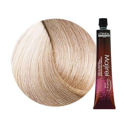 Loreal Majirel | Trwała farba do włosów - kolor 10.21 bardzo bardzo jasny blond opalizująco-popielaty - 50ml, kolor blond