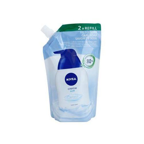 Nivea Creme Soft mydło w płynie napełnienie (Refill) 500 ml