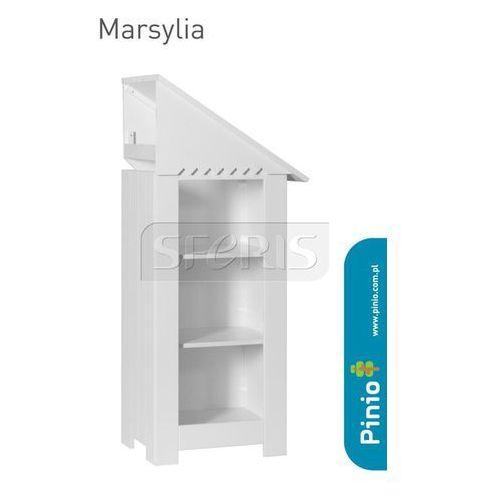 Regał - dostawka Pinio Marsylia Biały - 101-070-010