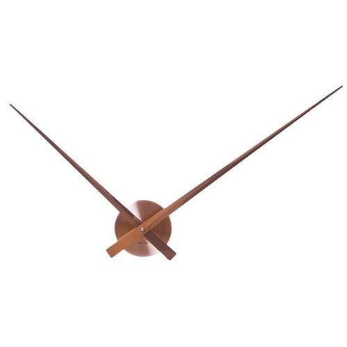 Zegar ścienny Little Big Time alu copper by Karlsson