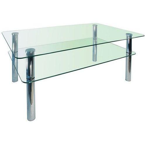 Szkłomal PROSTOKĄT MINI - Stolik szklany, 90x60 cm - produkt z kategorii- Stoliki i ławy