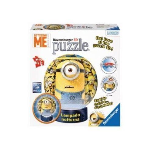 Ravensburger Puzzle kuliste 72 el. - minionki lampka kula (4005556121694)
