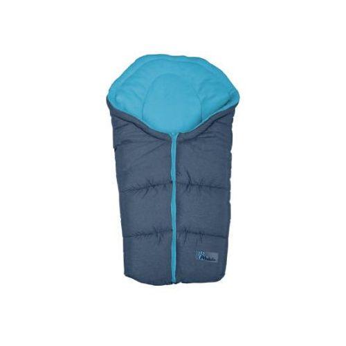 ALTABEBE Śpiworek zimowy Alpin do wózka kolor ciemnoszary/niebieski (4897015977634)