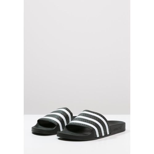 adidas Originals ADILETTE Sandały kąpielowe blackwhite