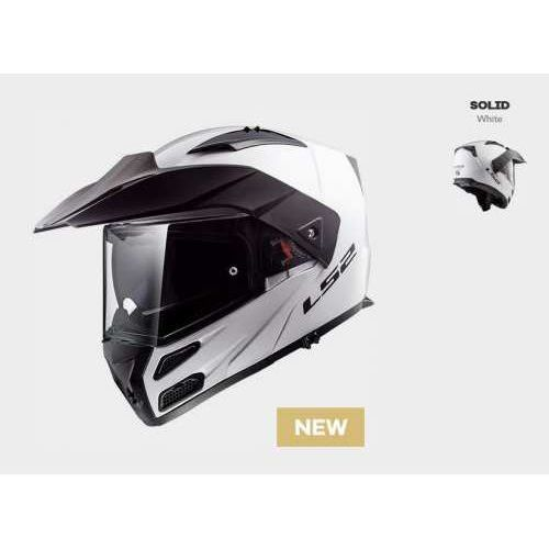 Kask ff324 metro evo solid white biały - model: rok 2019! (1) marki Ls2
