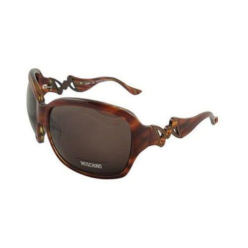 Okulary słoneczne mo 593/strass 02 marki Moschino