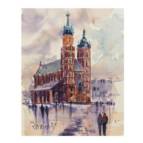 Obraz 24 x 30 cm Bazylika Mariacka (5901554535596)