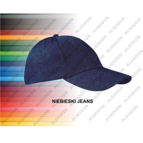 Czapka z daszkiem jeans gruba bawełna texas mlodziezowo-dorosle jeans marki Valento