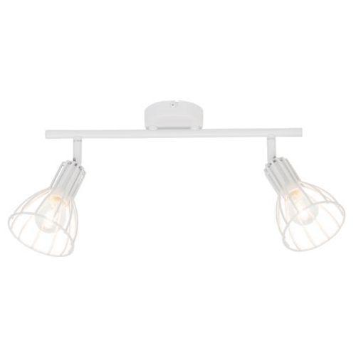 Lampa oprawa sufitowa Spot Light Megan 2x60W E14 biała 2743202, 2743202