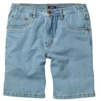 Bermudy dżinsowe classic fit jasnoniebieski, Bonprix