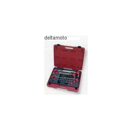 Zestaw kluczy imbusowych typu t-handle, 9 sztuk marki Seneca