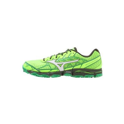 Mizuno wave hayate 4 obuwie do biegania szlak green gecko/white/forest night (5054698417683)