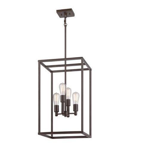 Qz/newharbor/4p quoizel loft lampa wisząca  marki Elstead