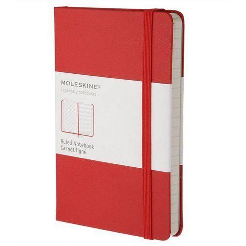 Moleskine Notes l classic w linie czerwony - moleskine (9788862930048)