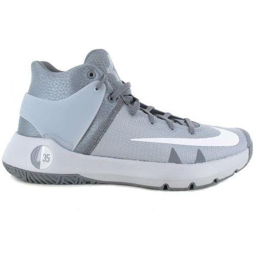 Nike Buty  kd trey 5 iv wolf grey - 844571-011 - szary