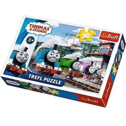 Puzzle 30 Wyścig na torach TREFL (5900511182309)