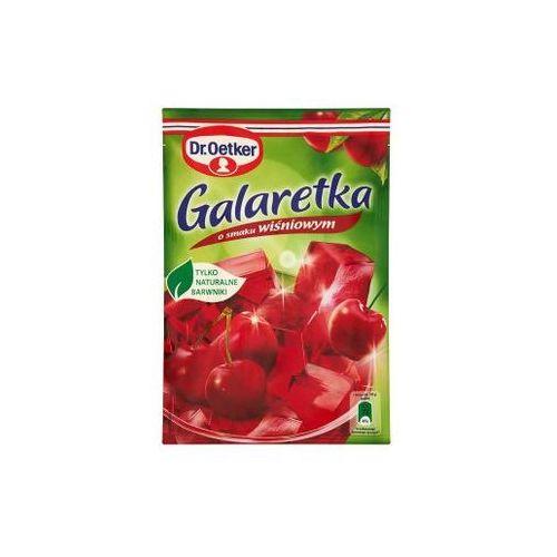 Galaretka o smaku wiśniowym 77 g  marki Dr. oetker