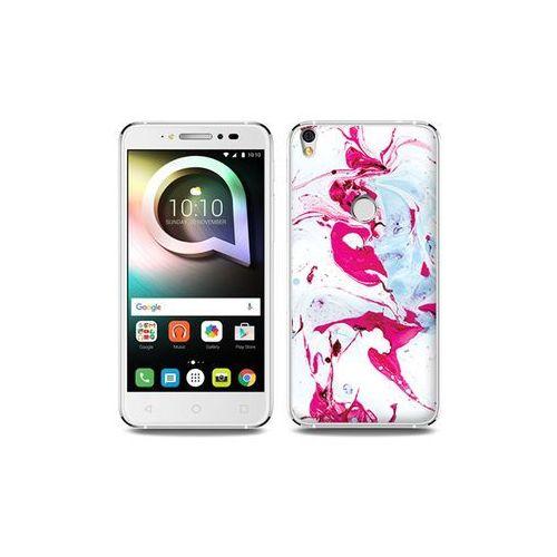 Alcatel shine lite - etui na telefon fantastic case - różowy marmur marki Etuo fantastic case