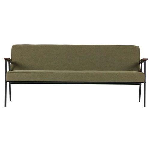 Woood:: Sofa Elizabeth oliwkowa, kolor zielony
