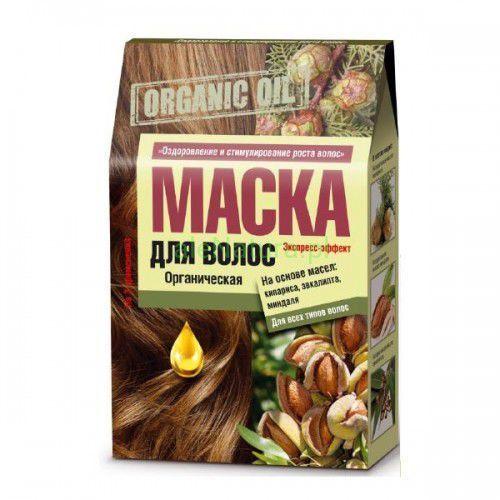 - maska do włosów organic oil - na bazie olejków: cyprys, eukaliptus i migdał marki Fitocosmetic
