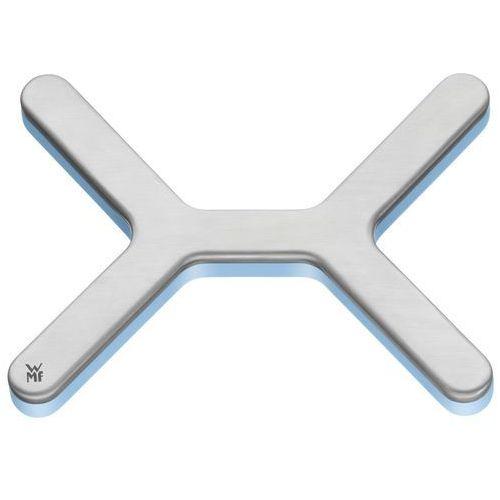 WMF 0632056030 podkładka pod gorące naczynia, ze stali nierdzewnej, niebieski, 17 x 13 x 1.2 cm