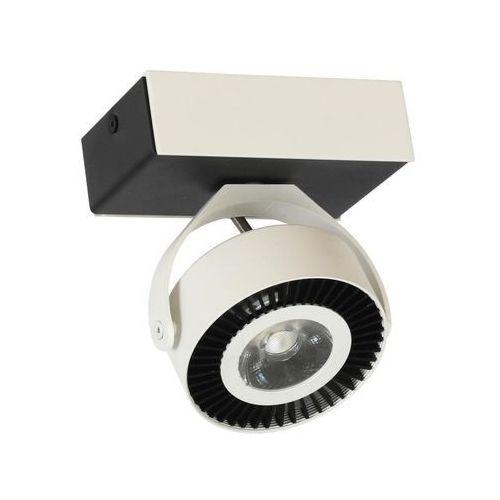 Kinkiet LED TECHNO biało/czarny (5902693738381)