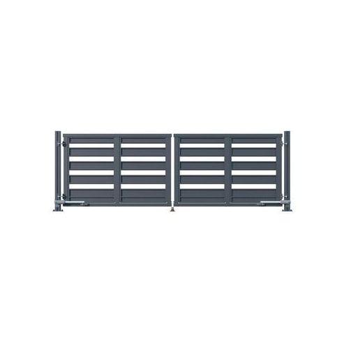 Brama dwuskrzydłowa ELEMENT 422 x 140 cm z automatem POLARGOS