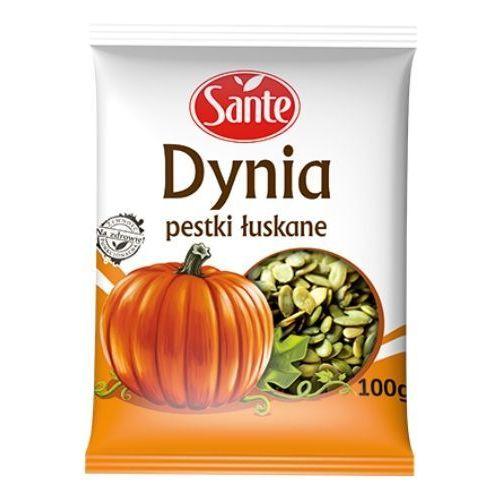 Pestki dynii łuskane 100 g Sante, towar z kategorii: Bakalie, orzechy, wiórki
