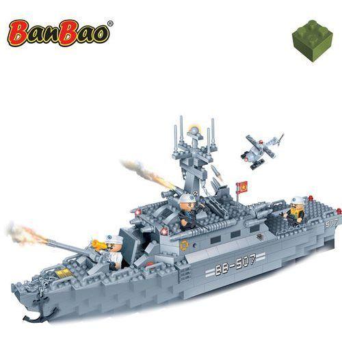 BanBao Okręt wojenny, zestaw klocków, 8415 Darmowa wysyłka i zwroty