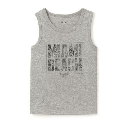 Koszulka na ramiączkach z napisem miami beach 10-16 lat marki R pop